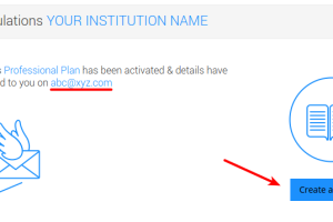 Congratulations your Institution has been registered as a Course Creator on Flinnt. Start creating courses.