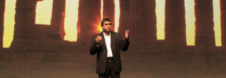 """""""Indian's don't speak up…"""" I can't agree more Mr. Vishal Sikka"""