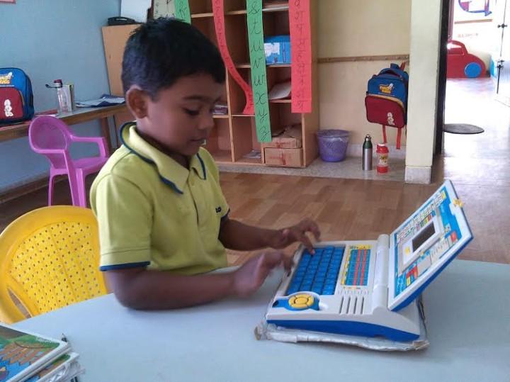 Euro Kids Preschool communicates on App!