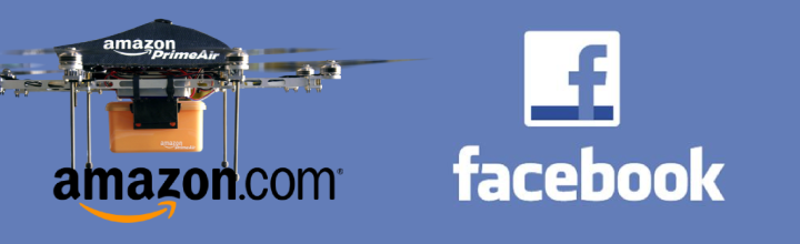 FB news feed, Amazon Drones Vs. Educators