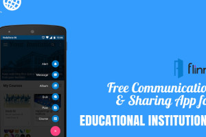 Free Communication & sharing app for Educational Institutions